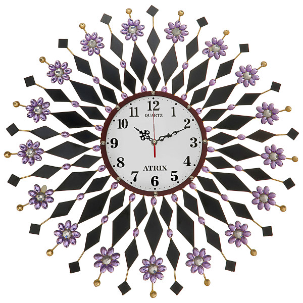ساعت دیواری آتریکس مدل خورشیدی کد 120