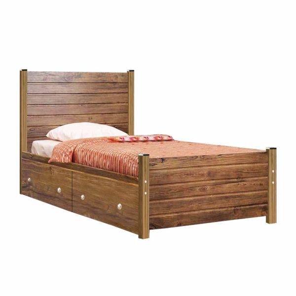 تخت خواب یک نفره کد SEN01 سایز 90x200 سانتیمتر
