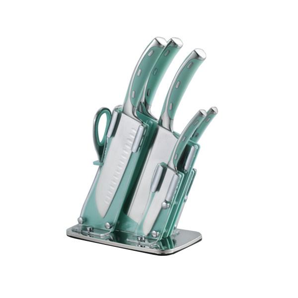 سرویس چاقو آشپزخانه 7 پارچه جی فی نی مدل GG07