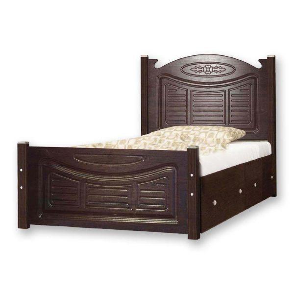 تخت خواب یک نفره کد NE01 سایز 90x200 سانتیمتر