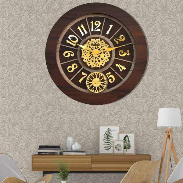 ساعت دیواری بتابی مدل سانا کد 1085