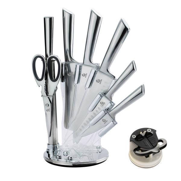 سرویس چاقو آشپزخانه 9 پارچه جی فی نی مدل N.S.W.9