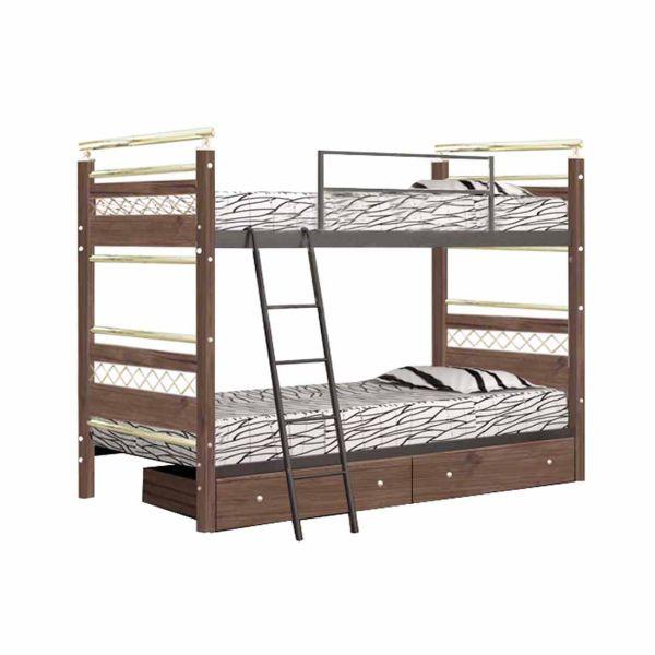 تخت خواب دو طبقه کد MA31 سایز 90x200 سانتیمتر