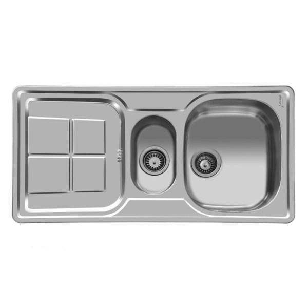 سینک ظرفشویی اخوان مدل 158 توکار