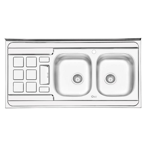 سینک ظرفشویی ایلیا استیل مدل 3021