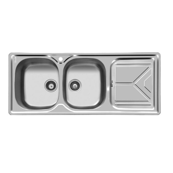 سینک ظرفشویی اخوان مدل 160 توکار