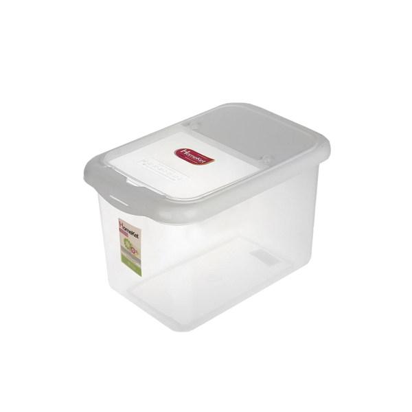ظرف برنج هوم کت کد 0729 ظرفیت 10 کیلوگرم
