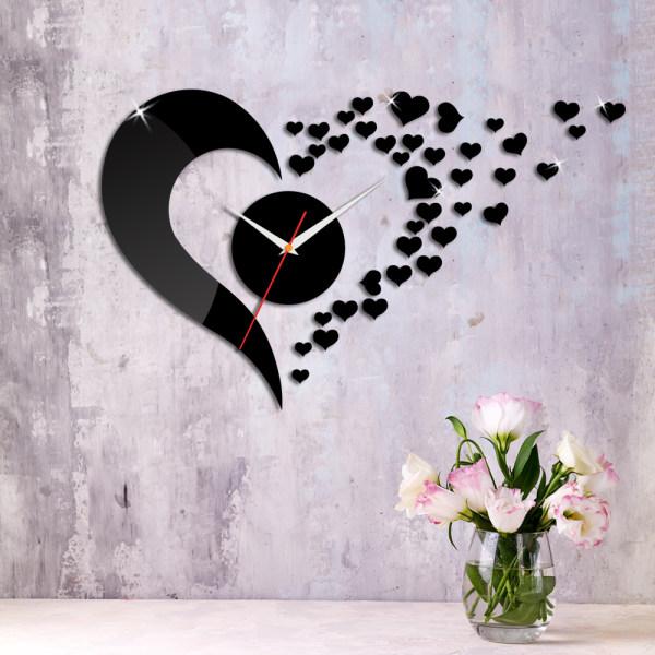ساعت دیواری اِلِنسی مدل قلب