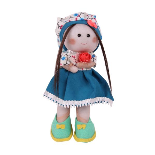 عروسک طرح دختر روسی کد 82 ارتفاع 24 سانتی متر