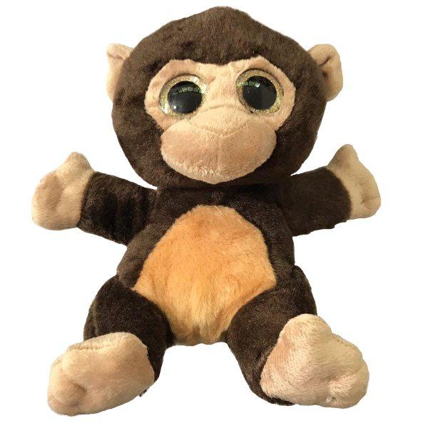 عروسک طرح میمون مدل Round Eye ارتفاع 20 سانتی متر