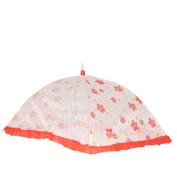 پشه بند کودک اسپرینگ مدل چتری قرمز
