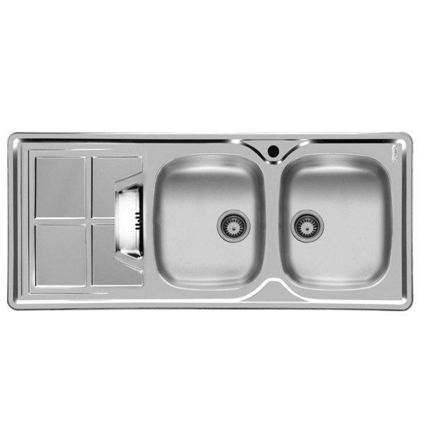 سینک ظرفشویی اخوان مدل 161SP توکار