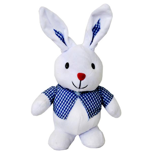 عروسک طرح خرگوش گوش دراز کد 05 ارتفاع 31 سانتی متر