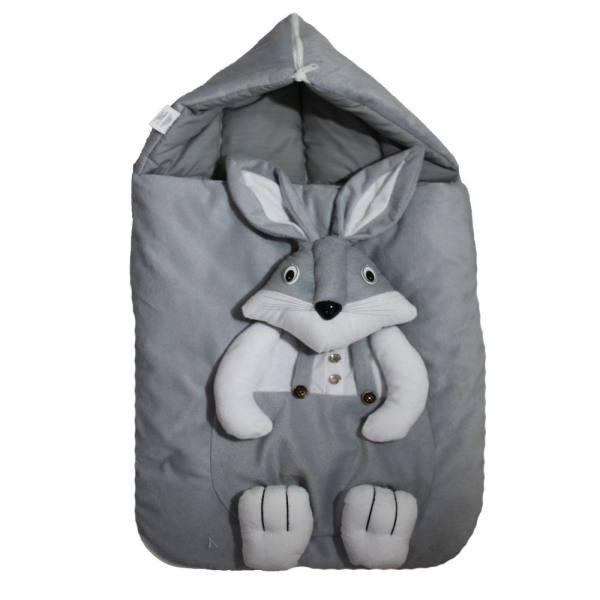 قنداق کودک طرح خرگوش