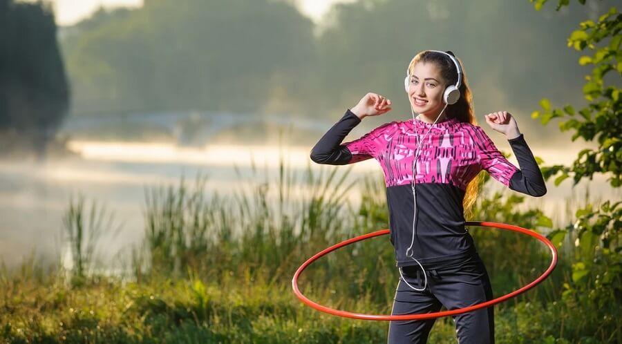 حلقه لاغری ، حلقه ورزشی